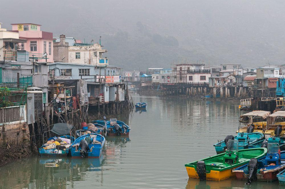 Tai O - historical village in Hong Kong