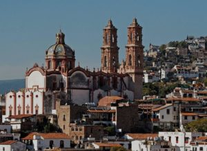 Taxco in Mexico, panorama