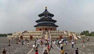 Temple of Heaven, The Hall of Prayer for Good Harvests. Beijing