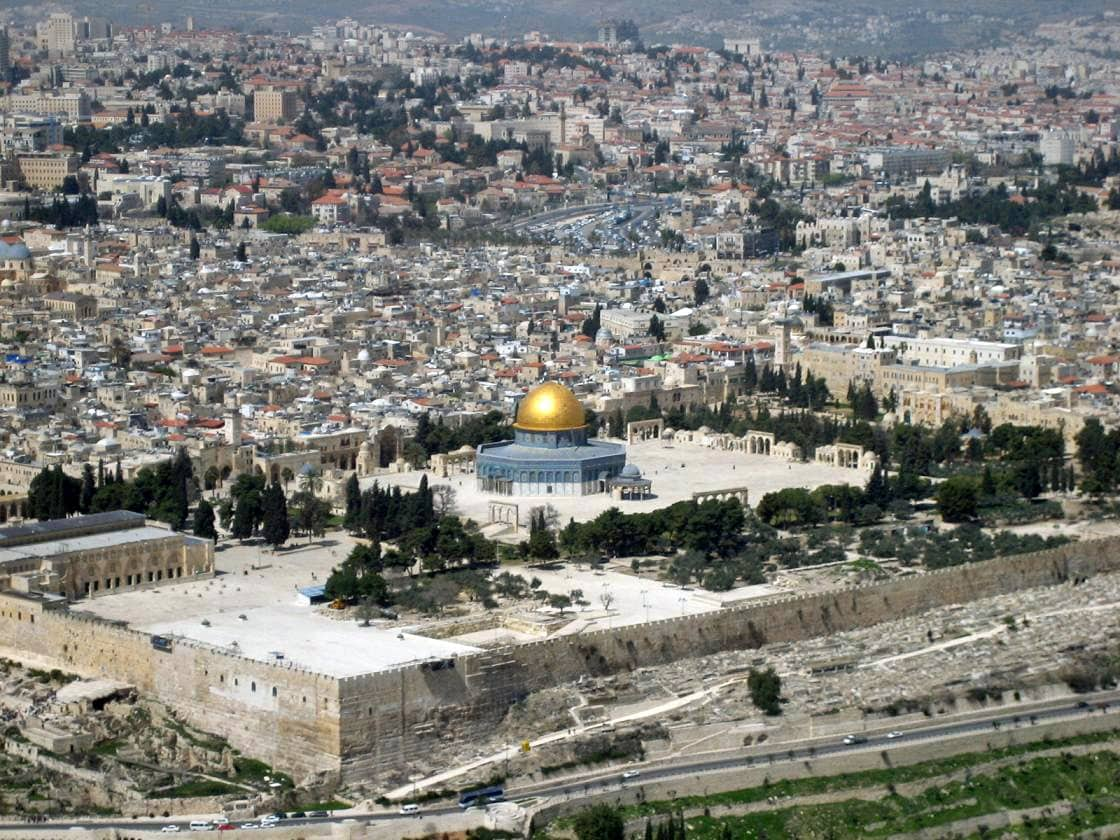 Temple Mount in Old Jerusalem