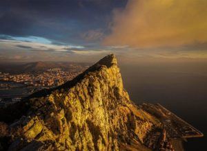 The Rock of Gibraltar - a true wonderland, criscrossed with secret tunnels, also the last refuge of Neanderthals