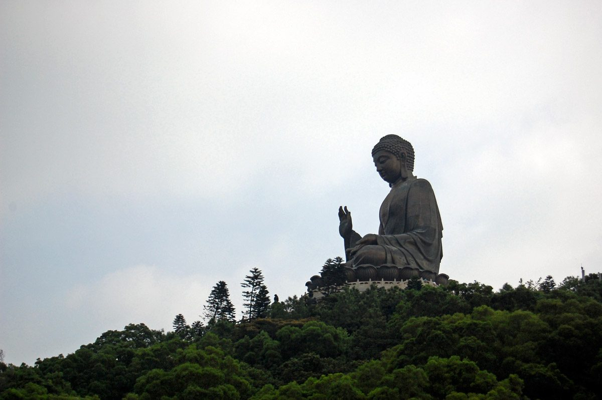 Tian Tan Buddha - one of the largest monuments in the world, Hong Kong