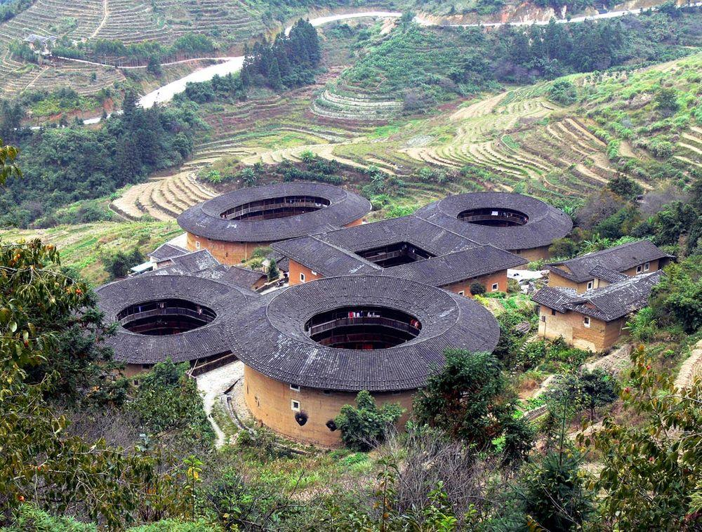 Tianluokeng Tulou cluster, China