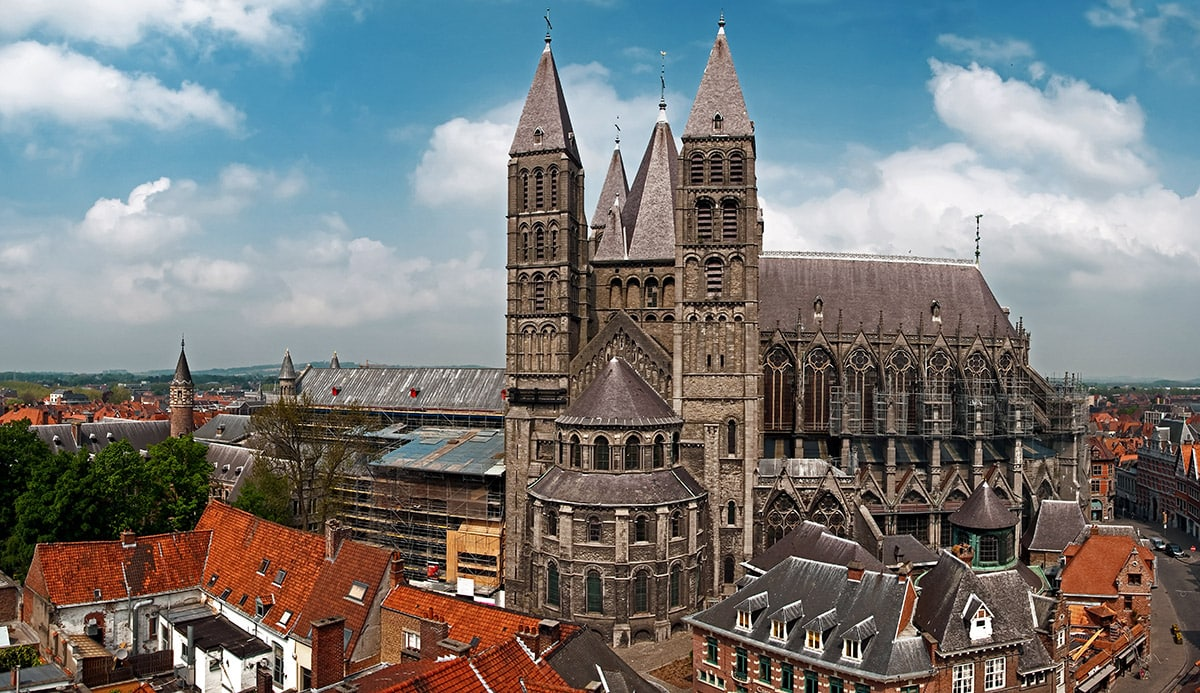 Tournai Cathedral, Belgium