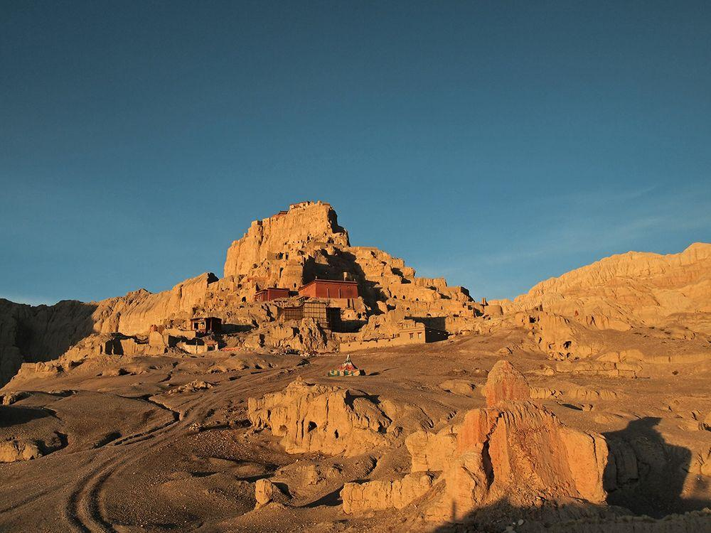 Ruins of Tsaparang - capital of the Kingdom of Guge, Tibet