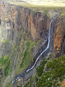 Tugela Falls, upper drop (182 m), South Africa