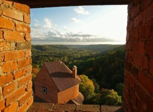 View from Turaida Castle, Latvia