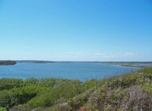 View from Turtle Mound - the tallest shell midden in United States