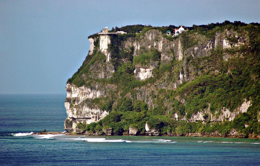 Puntan Hugua Humaguiya - Two Lover's Point in Guam
