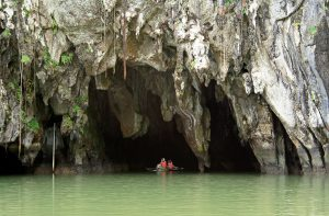 Entrance into Puerto Princesa Subterranean River, Philippines