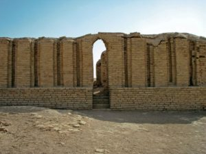 Possible world's oldest existing arch in Ur, Iraq