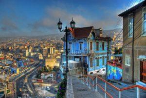 Valparaíso, Las Brujas restaurant at Ascensor Artilleria