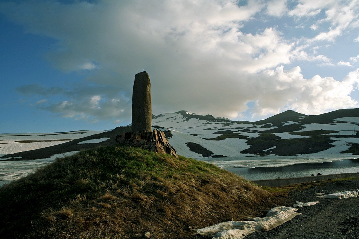 Vishap of Aragats, Armenia