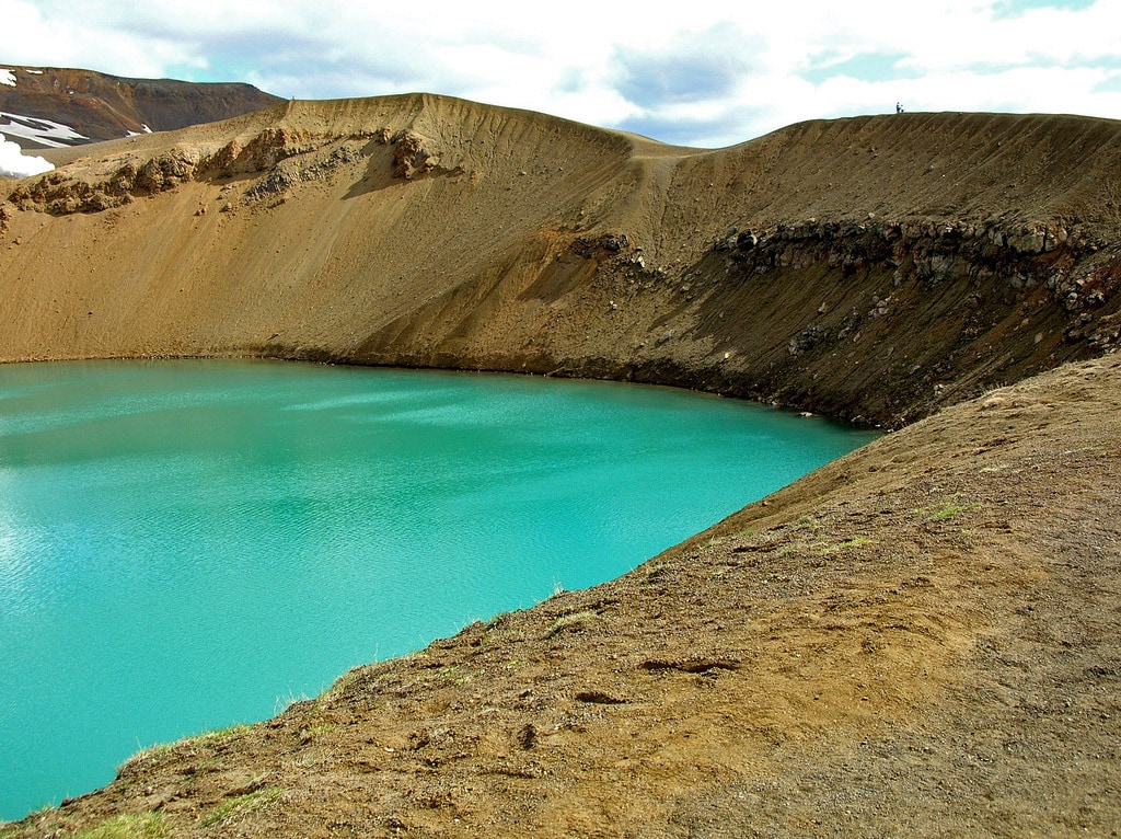 Viti crater lake, Iceland