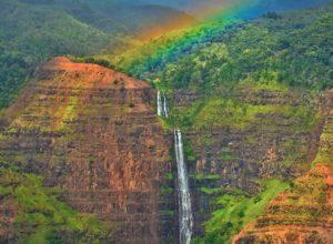 Waipoo Falls in Kauai