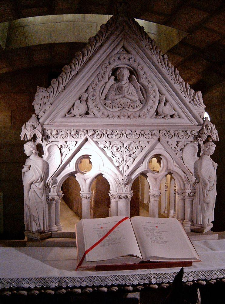 Grave of St.Willibrord in Echternach Basilica, Luxembourg