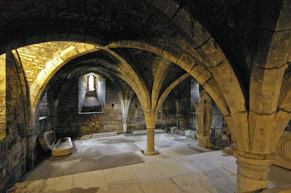 Winchester Cathedral, crypt