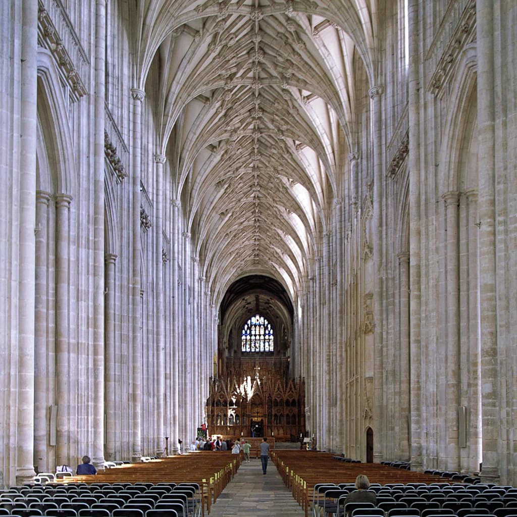 Winchester Cathedral, interior
