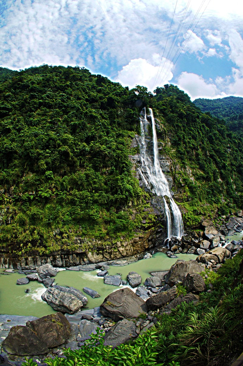 Wulai waterfall, Taiwan