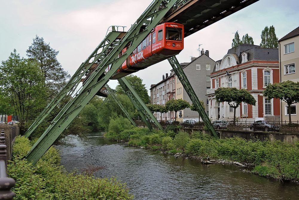 Wuppertal Suspension Railway, Germany