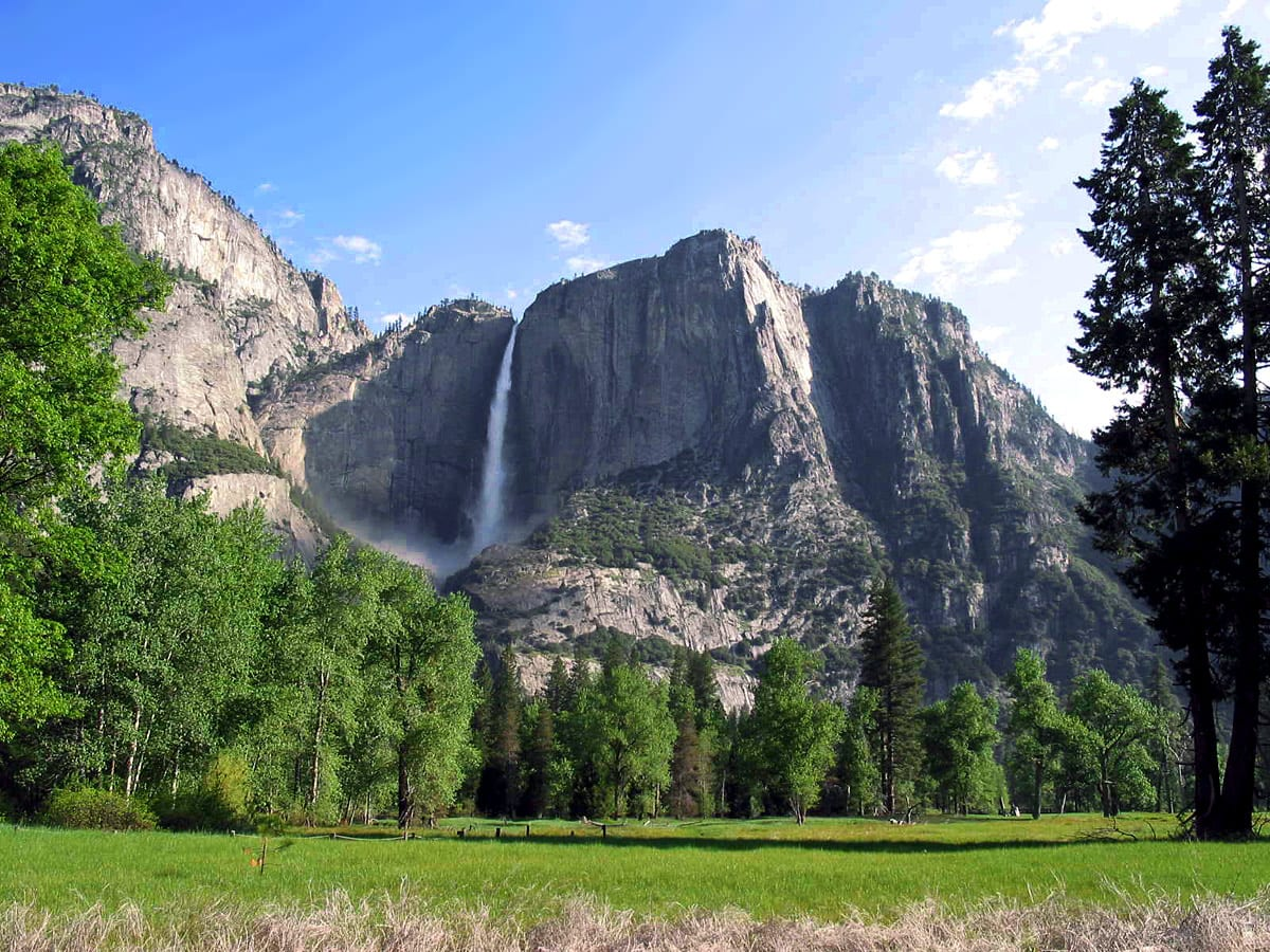 Yosemite Falls in California, United States