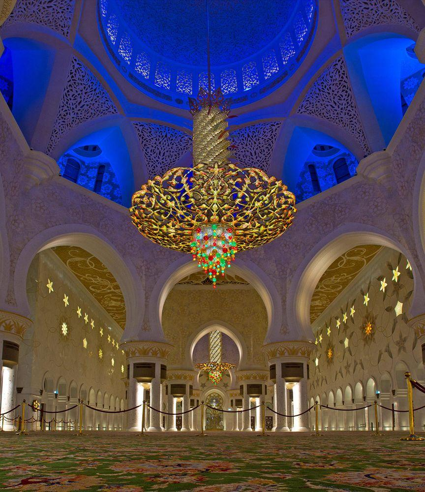 Interior of Sheikh Zayed Mosque, Abu Dhabi
