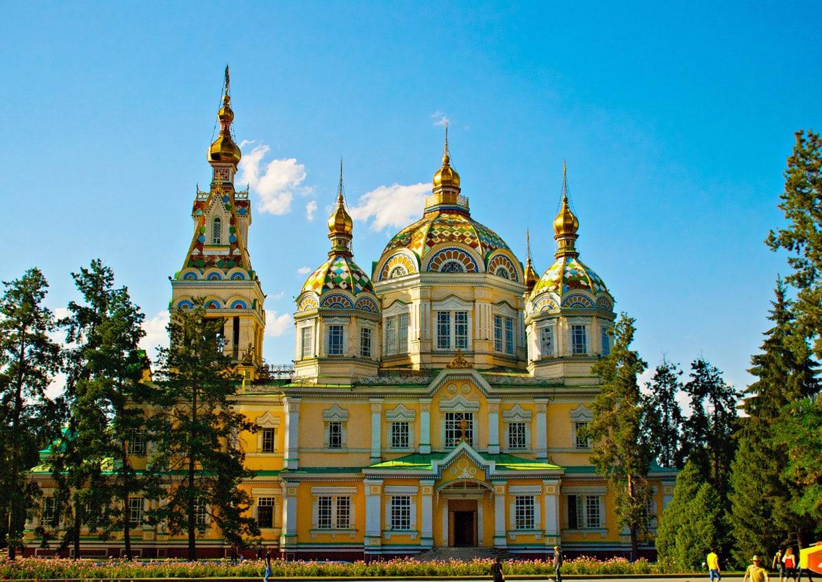 Zenkov Cathedral, Kazakhstan