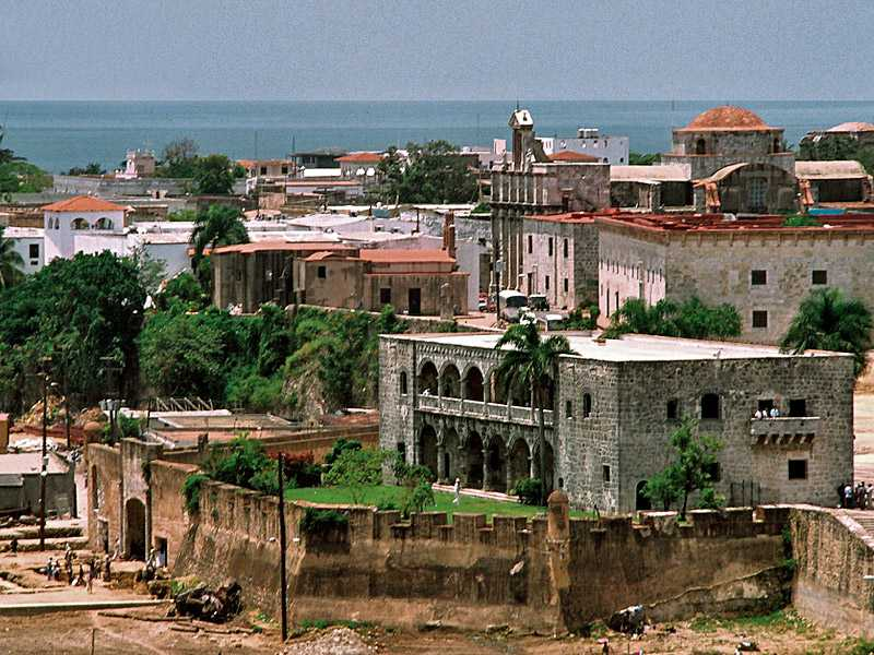 Zona Colonial in Santo Domingo, Dominican Republic