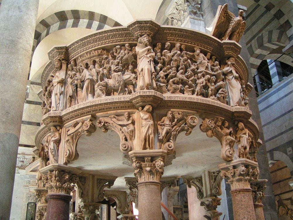 Pulpit, Pisa Cathedral