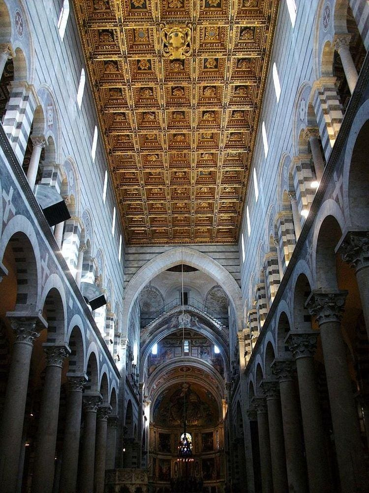 Coffered ceiling in Pisa Cathedral