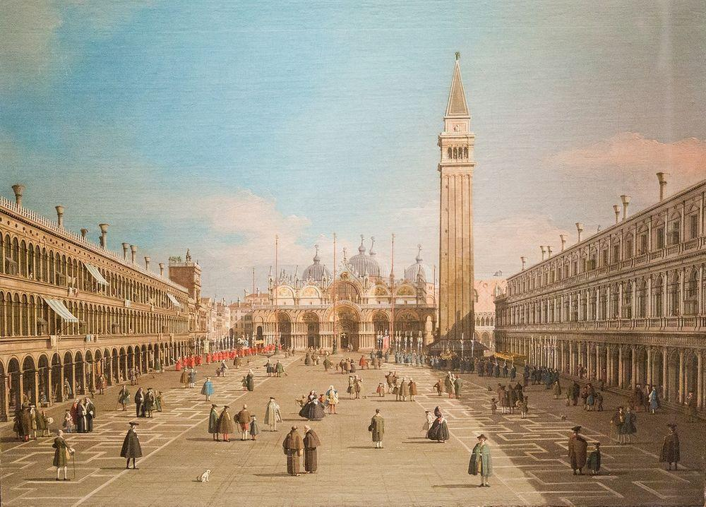 Piazza San Marco with the Basilica, Venice