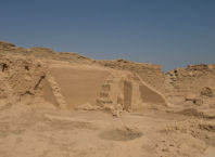 Remnants of Dura-Europos house church, Syria