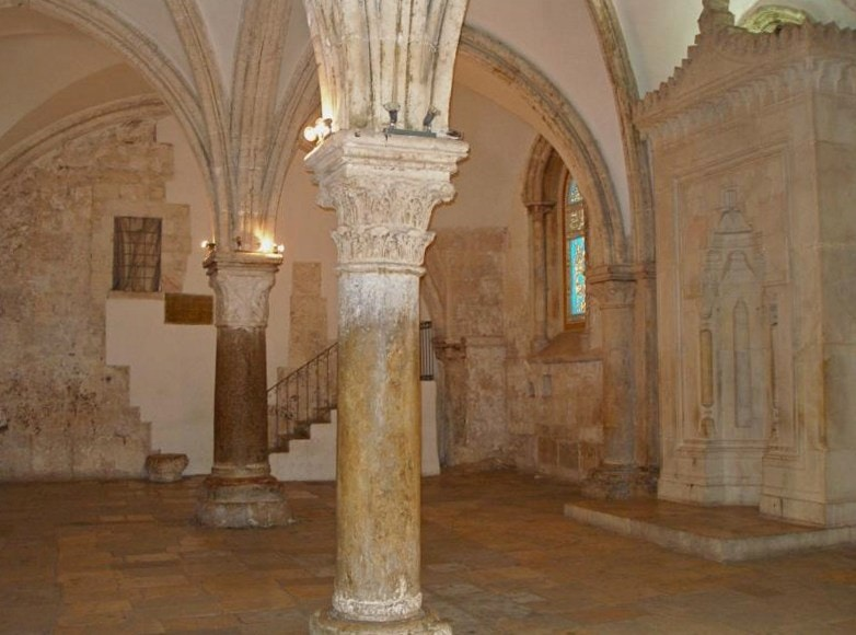 Cenacle - the possible location of the Last Supper