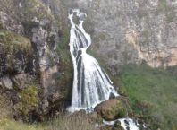 "El Velo de la Novia Falls or ""Lady in White"" Falls"