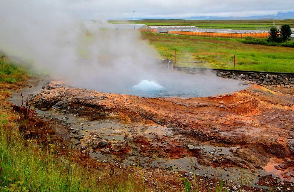Ystihver, the northernmost geyser in the world