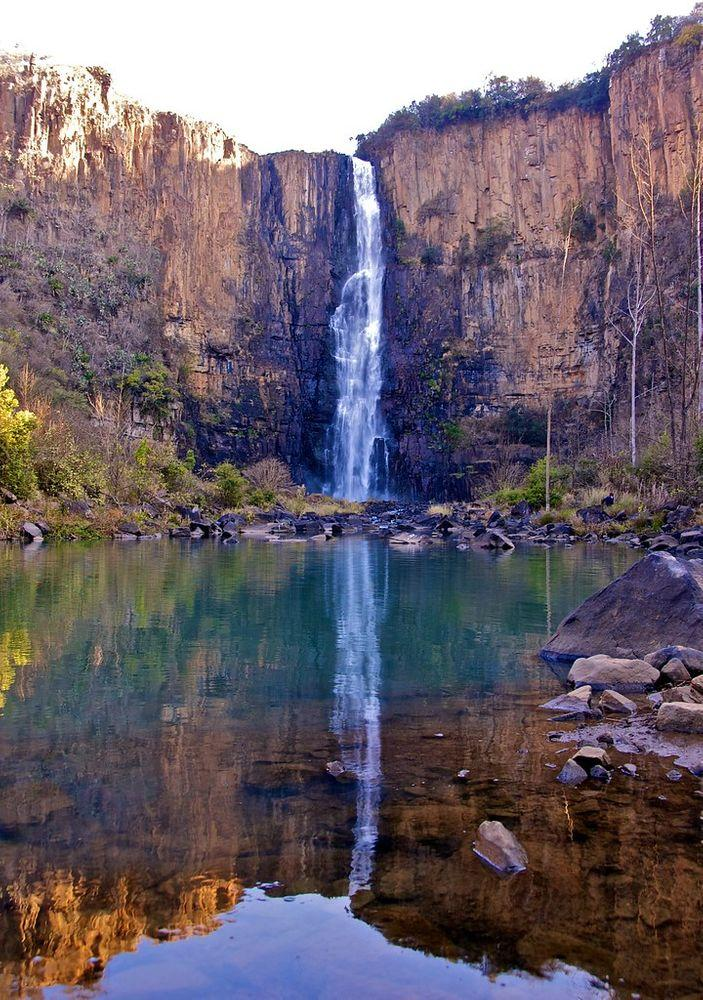 Howick Falls and reflections