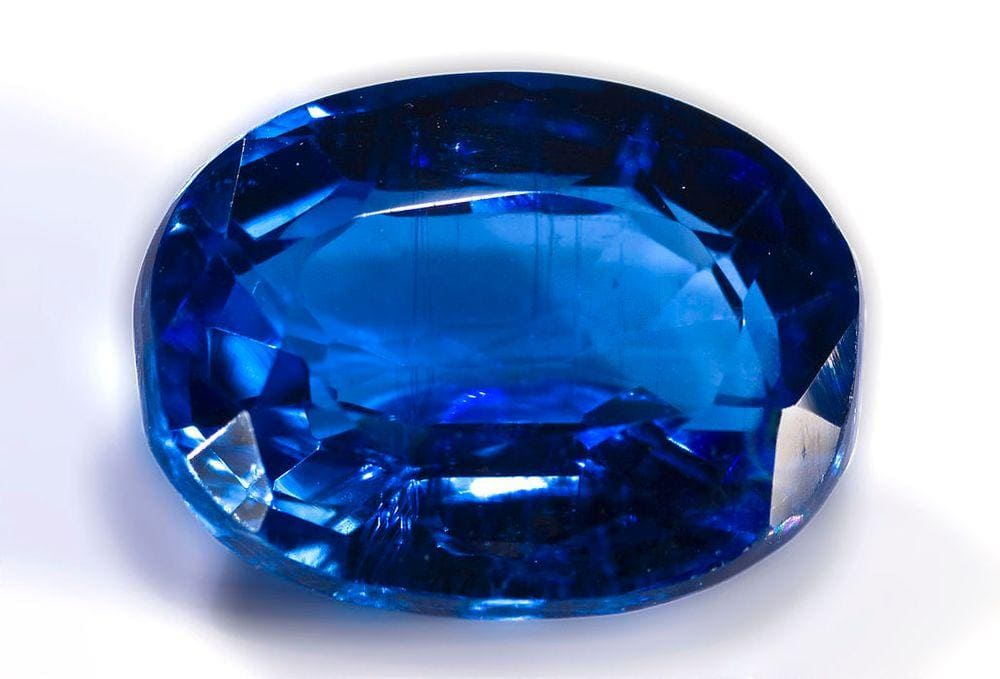 Only in Nepal is found kyanite of such high gem quality