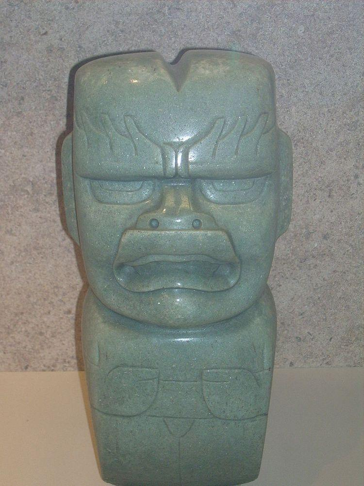 Small Olmec figure from jade, British Museum
