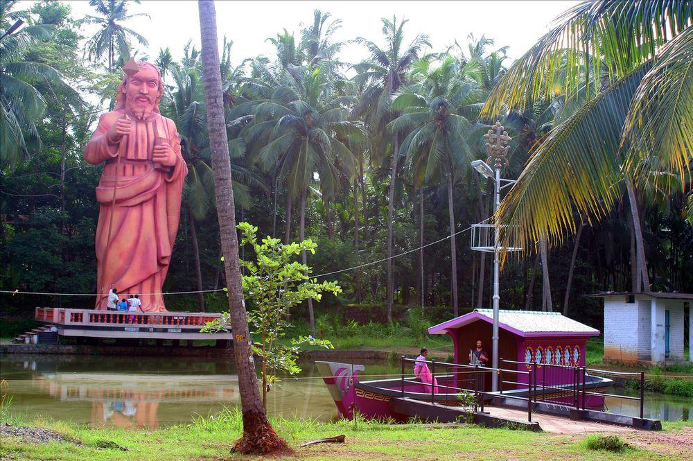 Bottukulam - purported site where Saint Thomas arrived with his boat