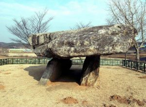One of Bugeun-ri dolmens