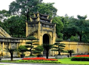 Hanoi Citadel, side gate