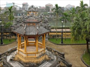 Huế, gardens in An Dinh Palace