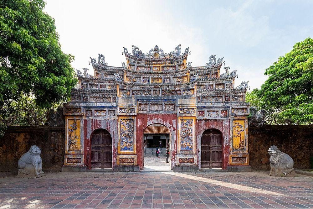 Huế Imperial City, side gate