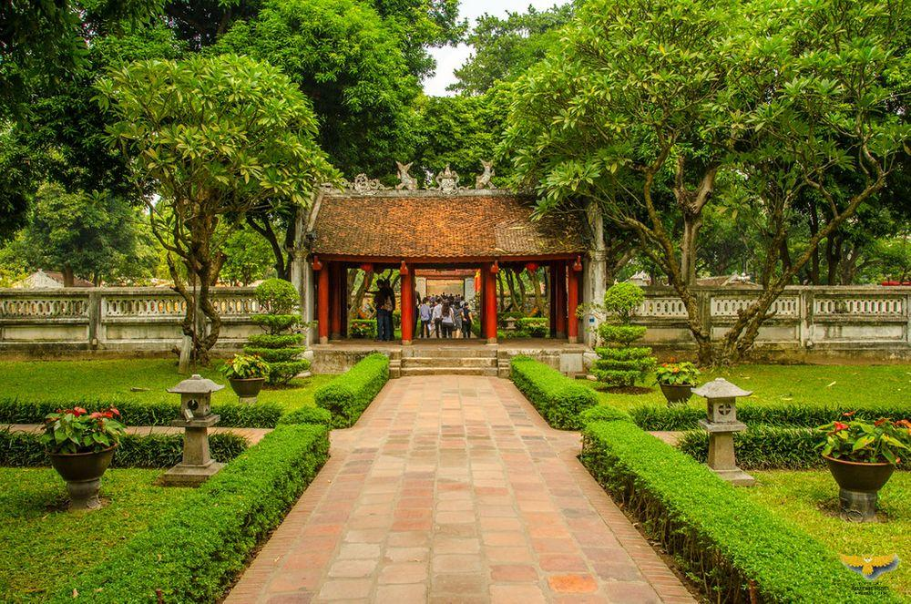 Gardens around the Temple of Literature, Hanoi