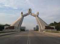 Arc of Reunification in Pyongyang
