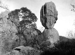 Balancing Rock in Chillagoe massif