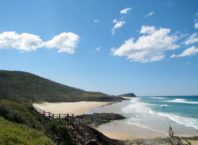 Chapmagne Pools in Fraser island