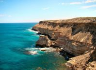 Sea cliffs in Kalbarri National Park