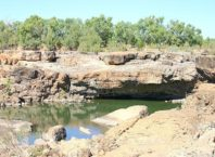 Leichhardt Falls without water