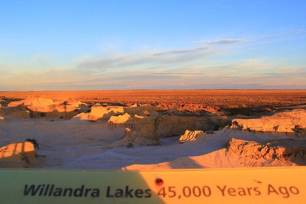 Landscape at Willandra Lakes